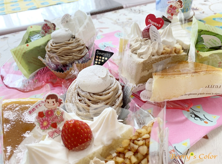 お茶会ケーキ