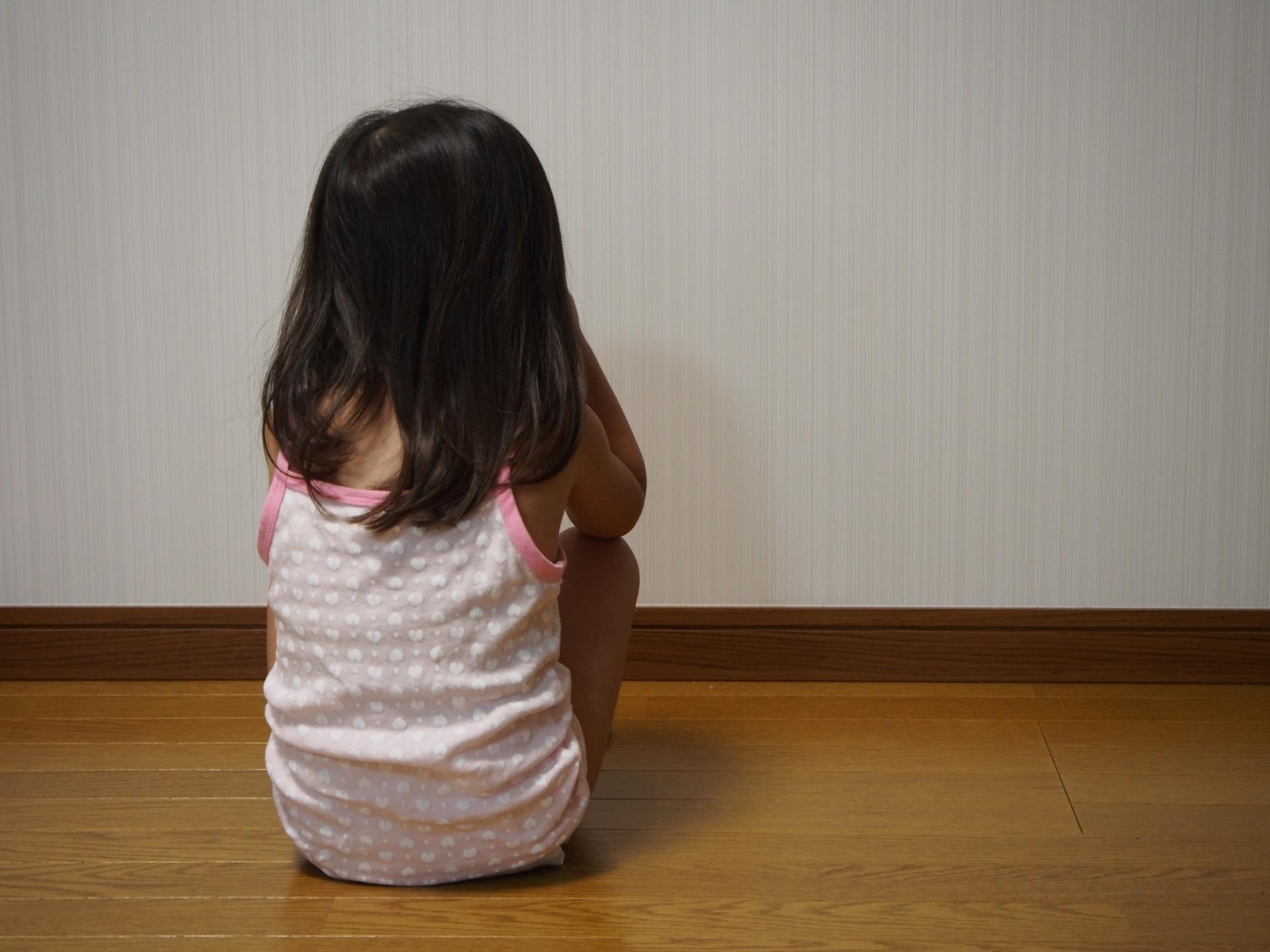 虐待された女の子
